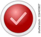 authorize button red | Shutterstock . vector #226405807
