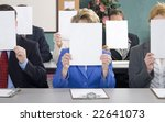 group of business woman and men ... | Shutterstock . vector #22641073