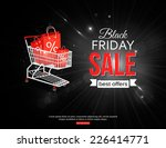 black friday sale background... | Shutterstock .eps vector #226414771