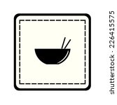 icon of the plate for sushi... | Shutterstock .eps vector #226415575