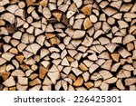 Dry Chopped Firewood Logs Read...