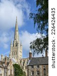 Norwich Cathedral Amongst The...
