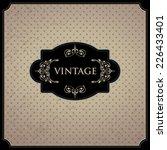 invitation vector card.  | Shutterstock .eps vector #226433401