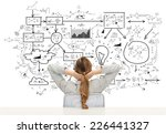 business  education  people and ... | Shutterstock . vector #226441327
