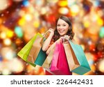 sale  gifts  christmas ... | Shutterstock . vector #226442431