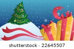 the decorated fur tree for a... | Shutterstock . vector #22645507