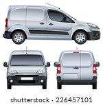 vector service car. blank... | Shutterstock .eps vector #226457101