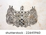 headpeace in old vintage bible | Shutterstock . vector #22645960