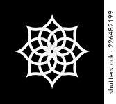 paper floral element for design.... | Shutterstock .eps vector #226482199