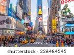 new york city   june 15  2013 ... | Shutterstock . vector #226484545