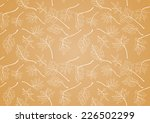 illustration with maple leaves... | Shutterstock .eps vector #226502299