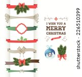 a set of christmas design... | Shutterstock .eps vector #226510399
