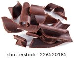 chocolate blocks isolated on a... | Shutterstock . vector #226520185