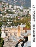 living district of yalta city...   Shutterstock . vector #226521487