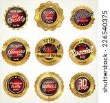 premium  quality retro vintage... | Shutterstock .eps vector #226540375
