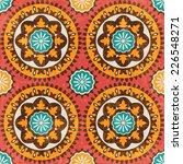 ethnic pattern  suzani  vector... | Shutterstock .eps vector #226548271