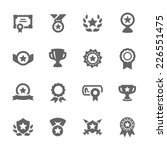 simple set of awards related... | Shutterstock .eps vector #226551475