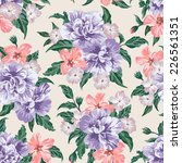 seamless exotic pattern with... | Shutterstock .eps vector #226561351