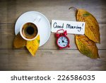 Autumn Time  Cup Of Coffee ...