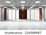 modern empty office interior... | Shutterstock . vector #226588987