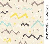 multicolored fun seamless... | Shutterstock .eps vector #226598611