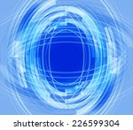 abstract technical background  | Shutterstock . vector #226599304