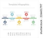 business timeline infographics... | Shutterstock .eps vector #226601797