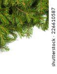 christmas green framework... | Shutterstock . vector #226610587