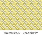 seamless pattern with zigzag... | Shutterstock .eps vector #226623199