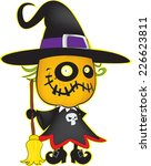 Cute Looking Witch Pumpkin...
