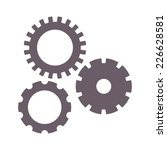 vector illustration of spare... | Shutterstock .eps vector #226628581