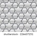 islamic metal pattern background | Shutterstock .eps vector #226637251