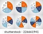 vector circle infographic.... | Shutterstock .eps vector #226661941
