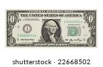 A Worthless Dollar Bill