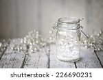 fairy lights in a jar | Shutterstock . vector #226690231