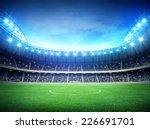 stadium night | Shutterstock . vector #226691701