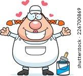a cartoon illustration of a... | Shutterstock .eps vector #226700869