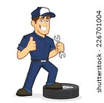 auto mechanic | Shutterstock .eps vector #226701004