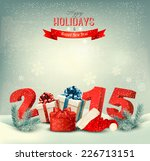 holiday background with... | Shutterstock .eps vector #226713151