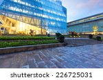 modern business office building ... | Shutterstock . vector #226725031