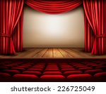 cinema or theater scene with a... | Shutterstock .eps vector #226725049