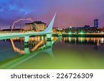 Puerto Madero district of Argentina capital city Buenos Aires