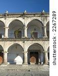 palacio del ayuntamiento with... | Shutterstock . vector #2267289