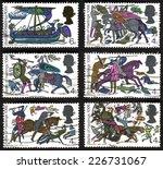 united kingdom   circa 1966 ... | Shutterstock . vector #226731067