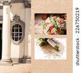 bridal bouquet   Shutterstock . vector #226750219