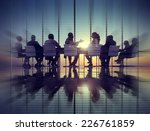 group of business people... | Shutterstock . vector #226761859
