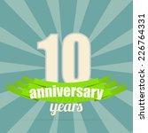10th years anniversary