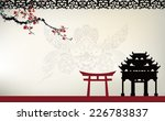 asian theme | Shutterstock .eps vector #226783837