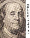 portrait of benjamin franklin | Shutterstock . vector #226787431
