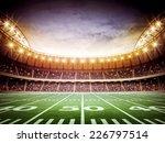 light of american stadium | Shutterstock . vector #226797514